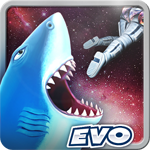 Hungry Shark Evolution to Android - Game bloodthirsty shark for Android