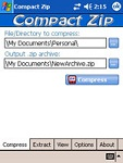 Compact ZIP Utility for Pocket PC 1.5.2 - Software compress and decompress files