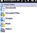 Resco File Explorer 2010 For Windows Mobile - image editing software