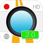 iSymDVR 2 for iOS 2:04 - Track car journeys by iPhone / iPad