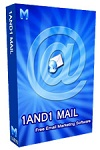 1and1Mail 3.4 - free email marketing software for PC