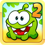 Cut the Rope 2 for iOS 1.0.1 - Game monster candy hunt on the iPhone / iPad