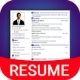Resume Builder App Free CV maker CV templates
