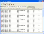 Free IP Scanner - scans IP addresses apps for PC