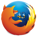 Firefox 43.0.2 - Support for web browsing , watching movies, listening to music online for PC