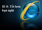 Internet Explorer 8 8.0.6001.18702 Final - Internet Browser Faster, Easier , More Private , and More Secure PC