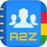 A2Z Contacts Free for iOS 2.1.5 - Management of comprehensive directory on the iPhone / iPad