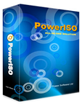 PowerISO 6.3 - Tool compresses and create ISO files