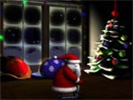 3D Santa Screensaver 1.0 - The interface for PC monitors noel
