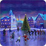 Christmas Rink Live Wallpaper for Android 2.5 - Applications Christmas Wallpaper