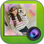 Photograph cute for Android 1.9.5 - Applications and decorative photo shoot