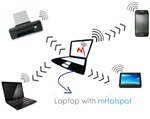 mHotspot 6.4 - Turn your laptop into a Wi - Fi base station