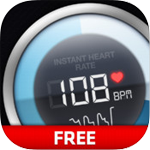 Instant Heart Rate Free for iOS 3.1.0 - Measurement of heart rate correctly on the iPhone / iPad