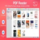 PDF Reader allows you to open and view any pdf file