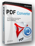 Wondershare PDF Converter 4.0.5 - Convert PDF files to Word , Excel , image for PC