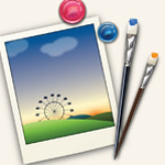 Photo Crop Editor 2:03 - Supports easy photo collage for PC