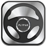 Flypad - Steering Wheel for iPhone - Turn your iPhone into a remote controller to play games on your PC
