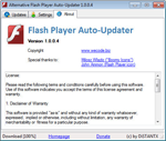Alternative Flash Player Auto - Updater 1.1.0.3 - Download and install Flash Player automatically